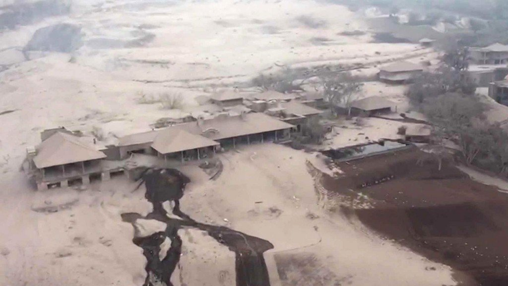 Images show destruction caused by Guatemala volcano