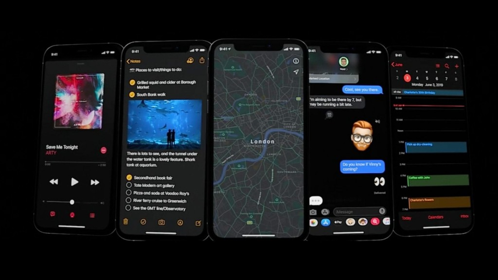Here are some of the features you can expect from Apple's iOS 13