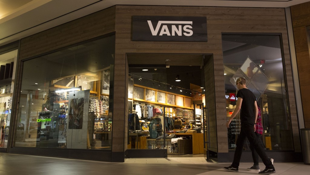 Sales of Vans sneakers starting to cool off