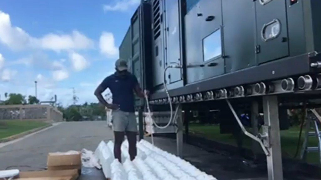 Homemade machine to bring endless fresh water to the Bahamas