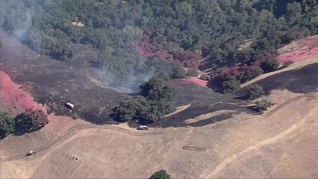 Mo. man charged with intentionally starting Reservoir Fire in Calif.