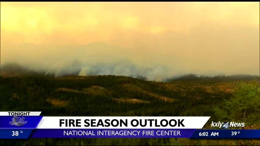 Data shows higher wildfire risk than normal for parts of Washington, Idaho this season