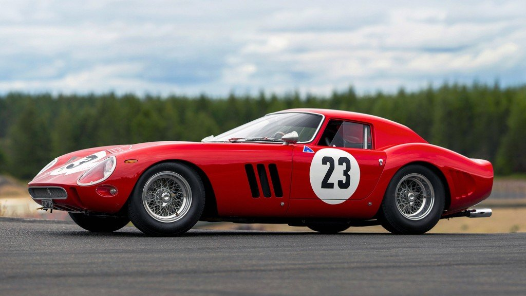 This Ferrari GTO is the most valuable car ever auctioned