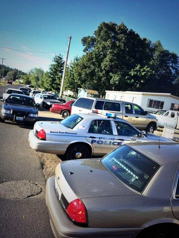 Shots fired at residence in 4900 block of North Florida