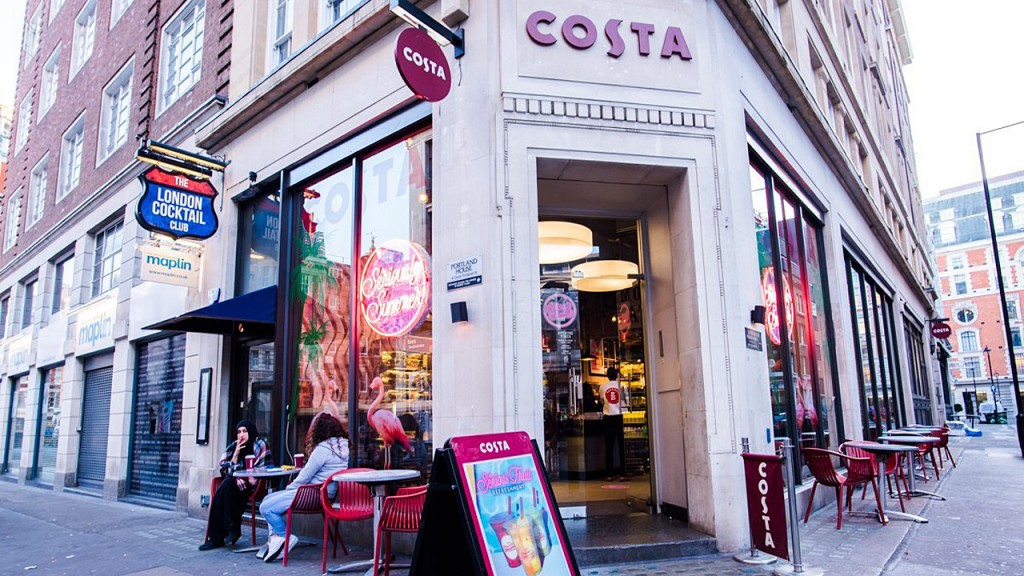 Coca-Cola is buying Costa Coffee for $5 billion