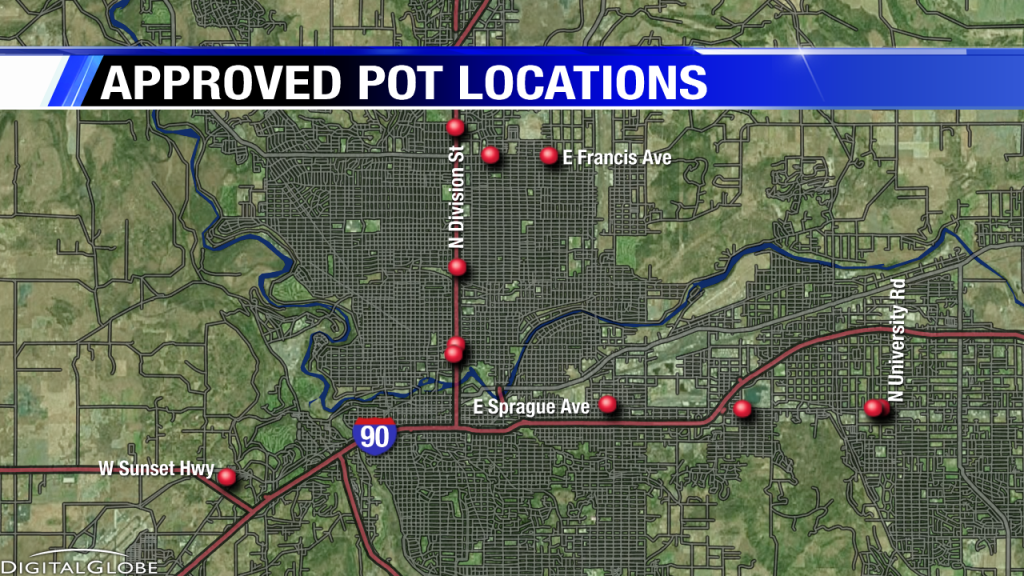 Gallery: Approved Marijuana Locations