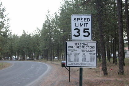 Rural Road Weight Restrictions