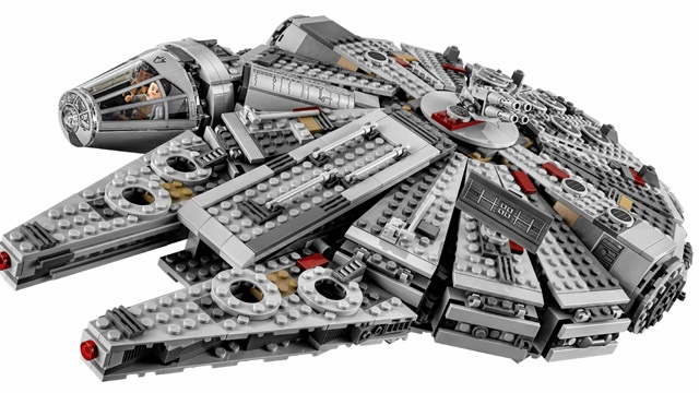 Lego's sales drop for the first time in 13 years
