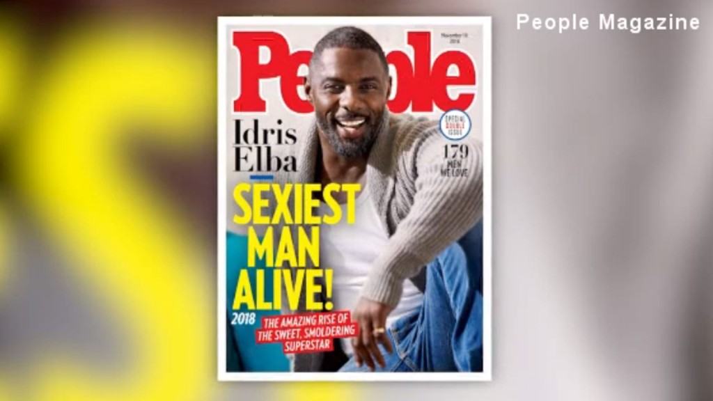Idris Elba is People's 'Sexiest Man Alive' for 2018