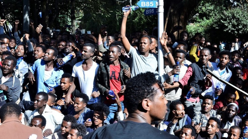 Deadly protests roil Ethiopia as Nobel winner's backers, critics clash