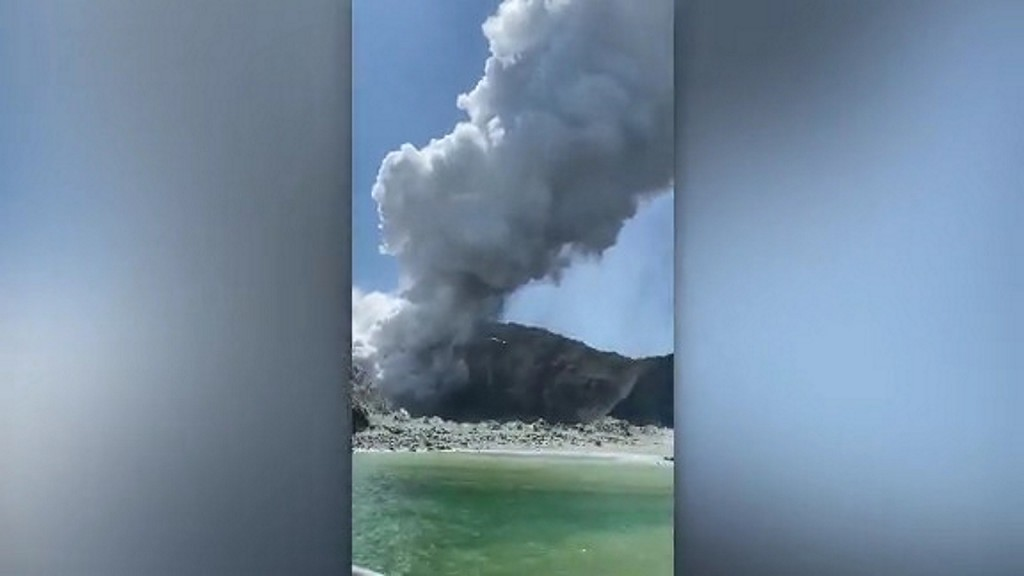 Volcano eruption on New Zealand's White Island leaves at least five dead