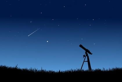 Perseid meteor shower Star Party tonight