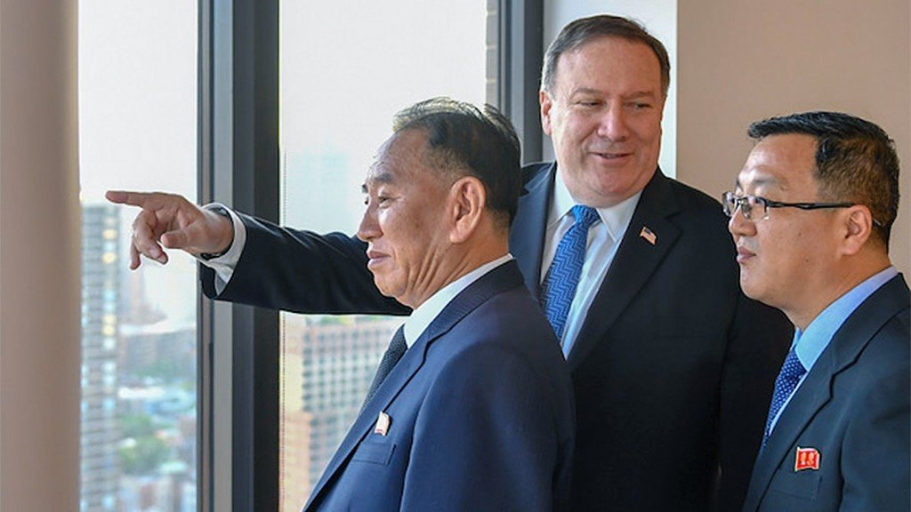 Pompeo says he doesn't know if Kim-Trump summit will happen