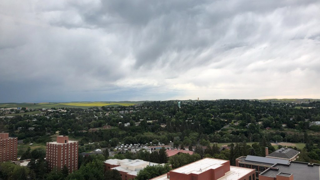 PHOTOS: Severe thunderstorm hits the Inland Northwest