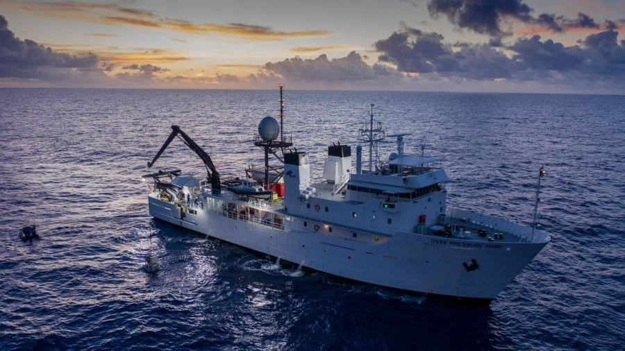 Deepest ever dive finds 'plastic bag' at bottom of Mariana Trench