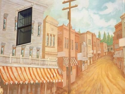 """City Will Unveil """"Historical Downtown"""" Mural"""