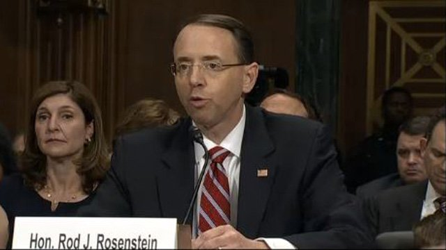 Exclusive: Trump asked Rosenstein if he was 'on my team'