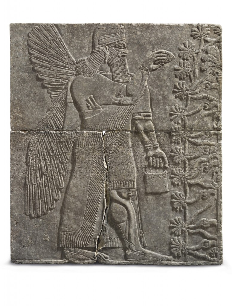 3,000-year-old Assyrian art may fetch more than $10M at auction