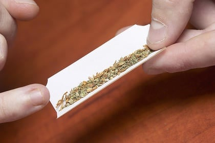 Man Arrested for Pot Possession On Courthouse Lawn
