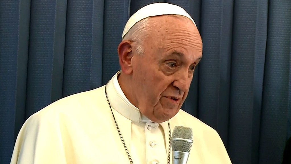 Pope Francis: Anti-Semitism 'neither human or Christian'