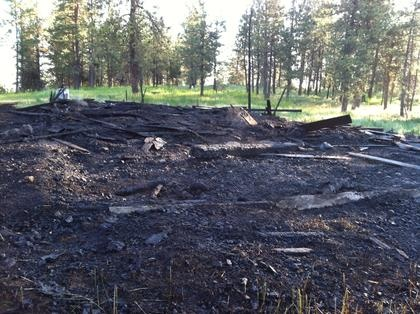 Early Morning Barn Fire Suspected In String Of Arsons