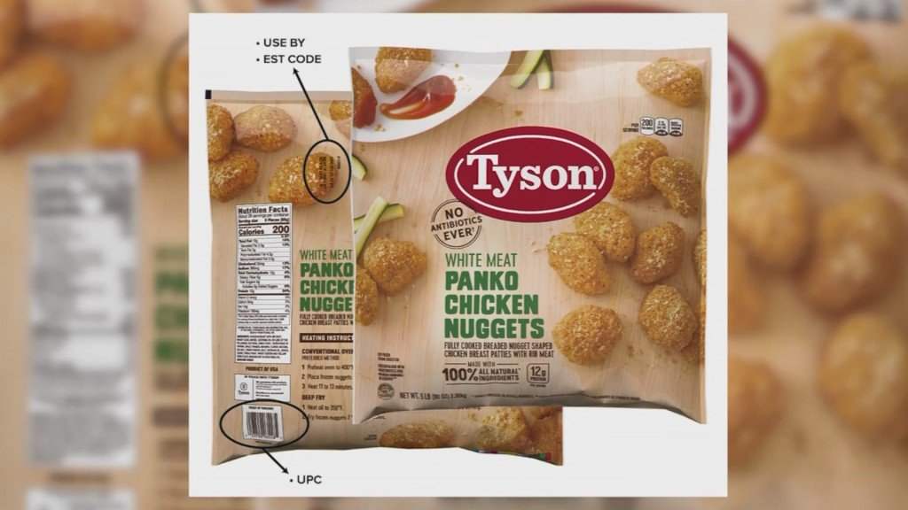 Tyson nuggets recalled for possible rubber contamination