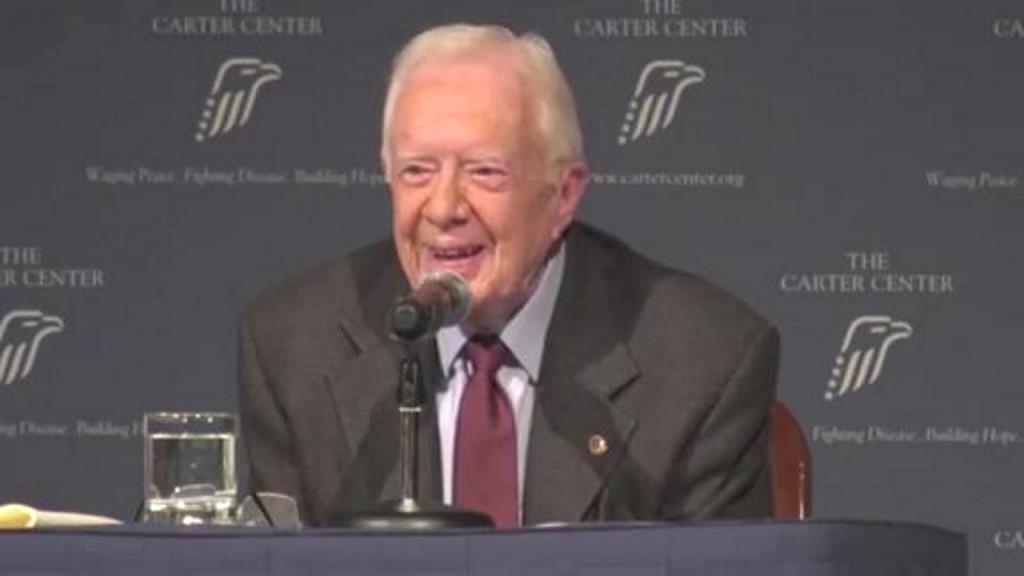 Jimmy Carter jokes 'I hope there is an age limit' on presidency