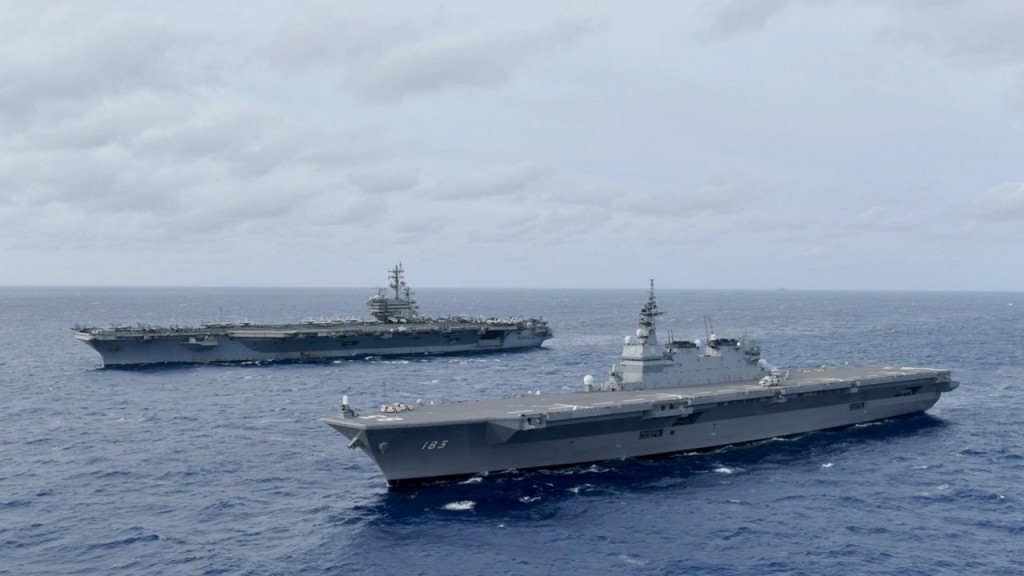 Beijing tells US to stop 'flexing muscles' in South China Sea