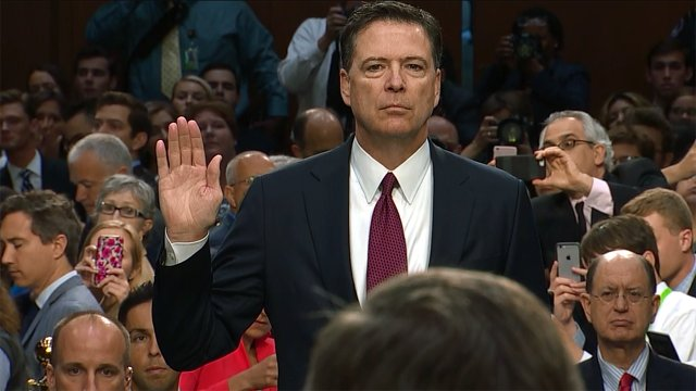 19.5 million people tuned in to watch Comey's testimony on TV