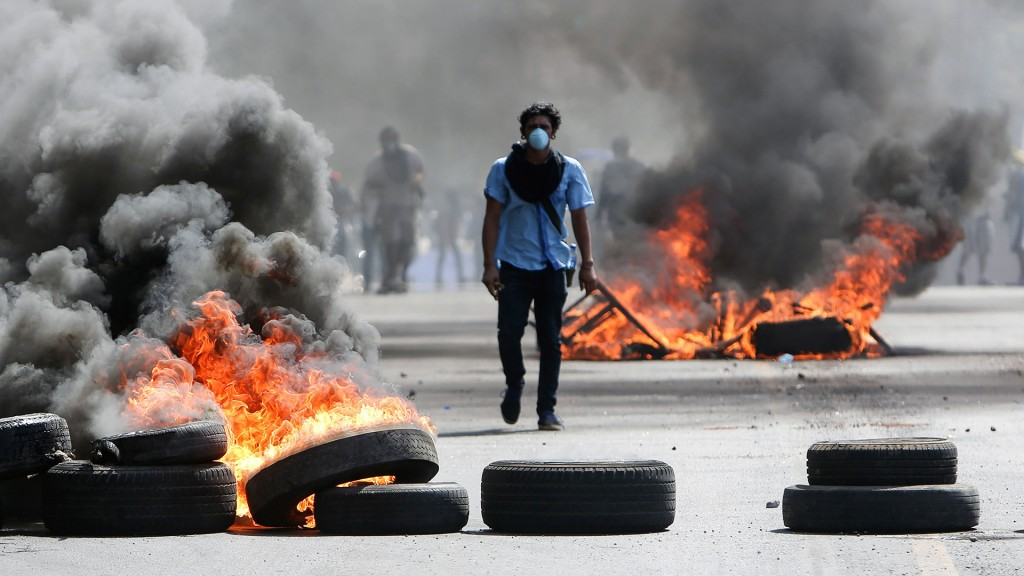 Death toll in Nicaragua protests reaches 273, human rights group says