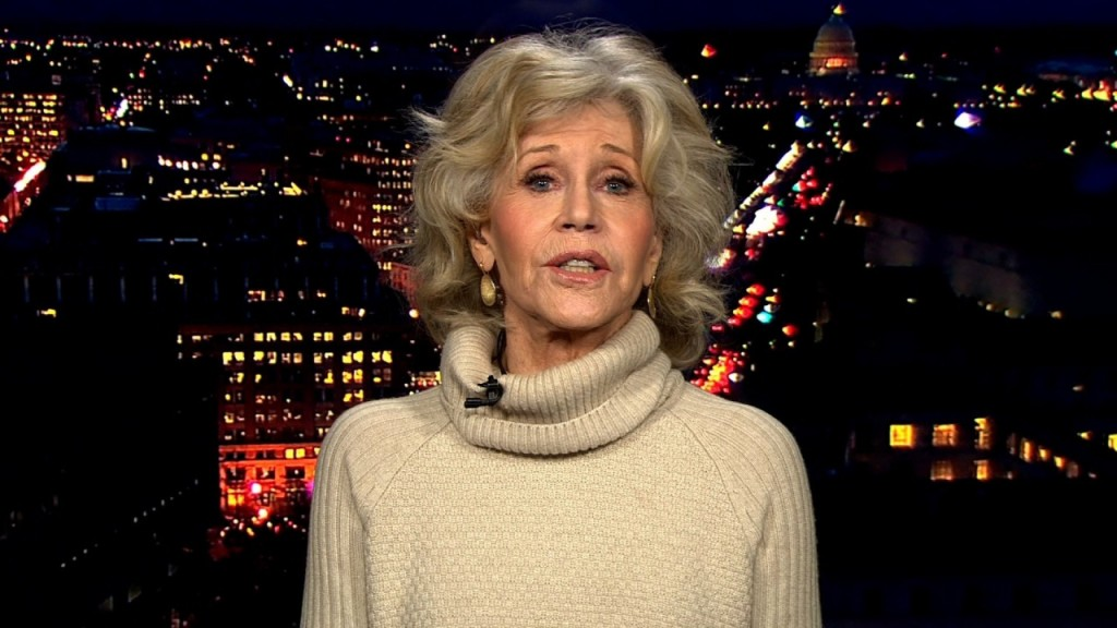 Jane Fonda said it 'feels good' to be arrested for civil disobedience