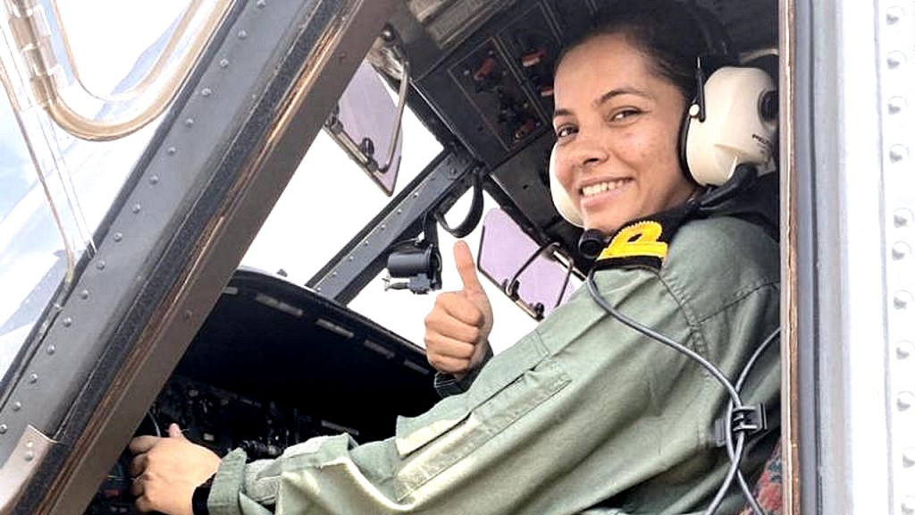 Indian Navy welcomes its first woman pilot