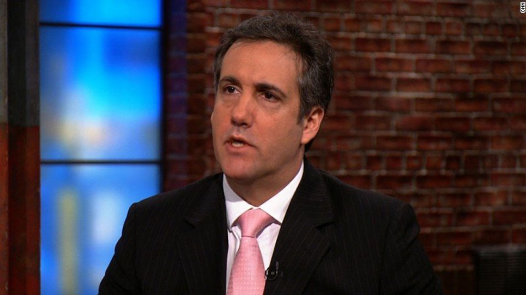 WSJ: Michael Cohen paid thousands to rig polls in Trump's favor