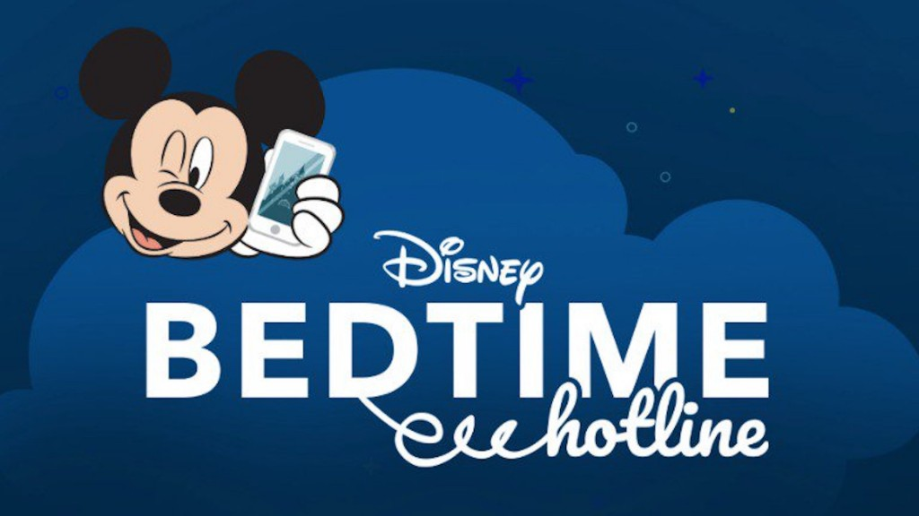 Disney's Bedtime Hotline is here to convince your stubborn kid to go to sleep