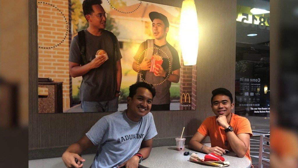 McDonald's gives pranksters $50,000 after they hung a fake ad to make a point about representation