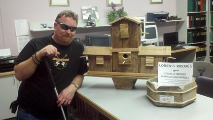 Blind Spokane Man Builds Bird Houses