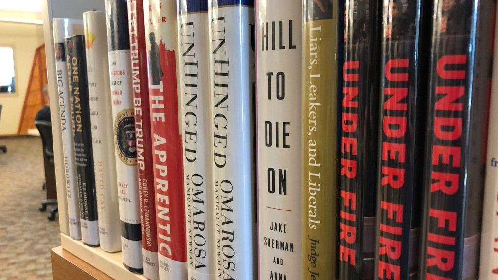 Left-leaning books hidden at CDA library