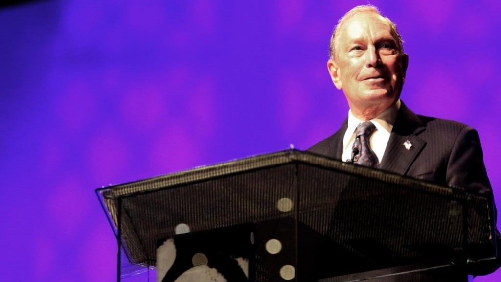 Bloomberg officially announces 2020 presidential campaign