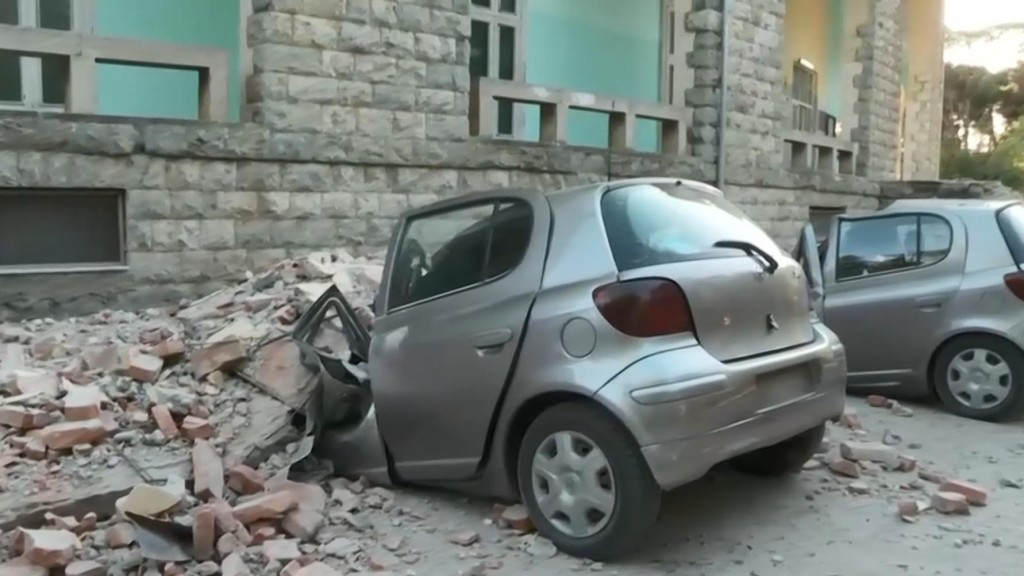 Albania struck by 5.6-magnitude earthquake, injuring at least 37