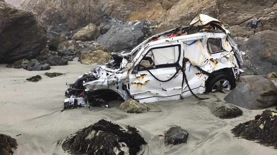 Woman survives 7 days after SUV plunges off cliff