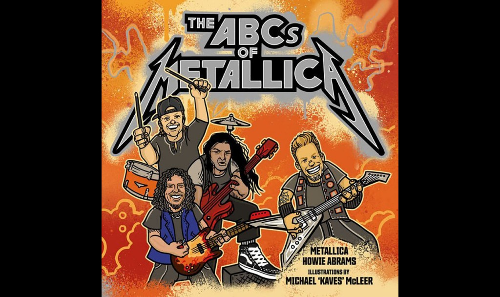 Wholesome easy listening band Metallica releases children's book