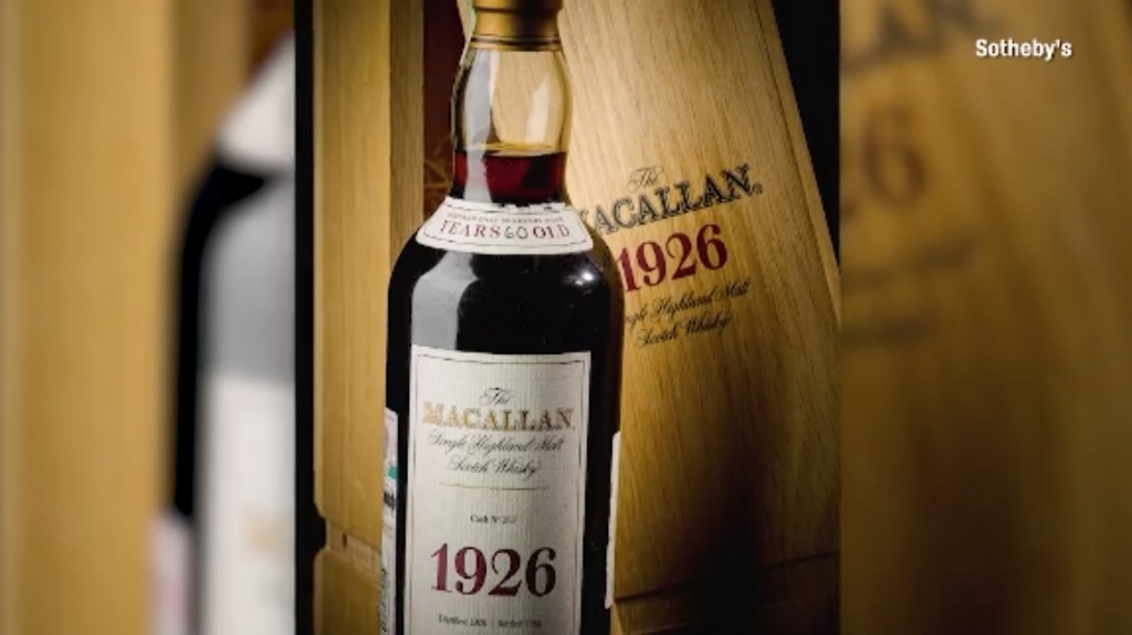 Bottle of whisky sells for $1.9 million, smashing auction records