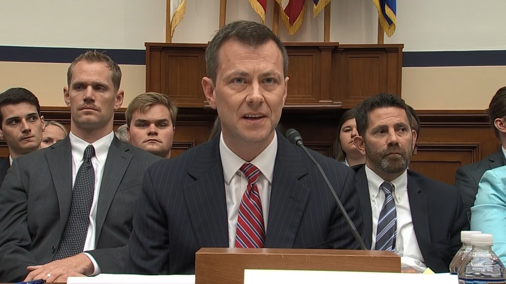 9 key moments from House hearing with Peter Strzok