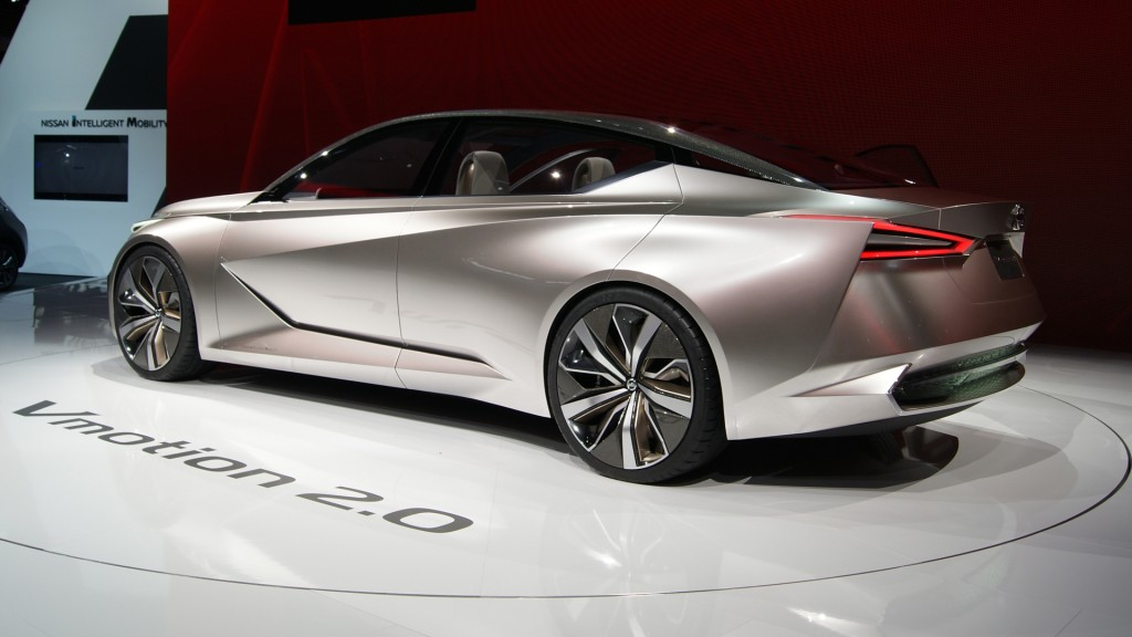 Check out details of the Nissan Vmotion 2.0
