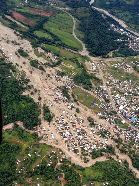 More than 250 dead in Colombia mudslides