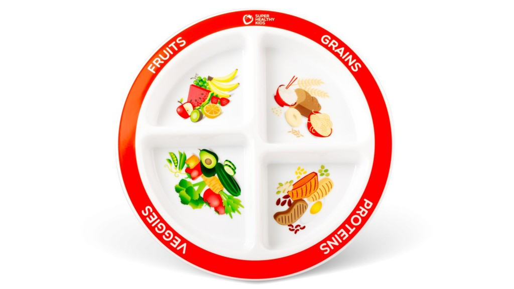 This plate design gets young kids to eat more veggies, study finds