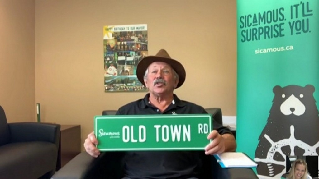 People keep stealing 'Old Town Road' signs