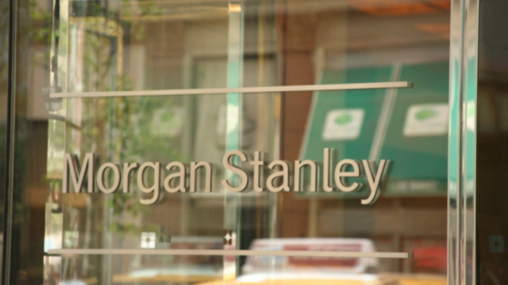 Morgan Stanley is cutting about 1,500 jobs