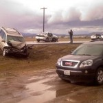 Multiple crashes hit I-90, Highway 395 and Highway 95
