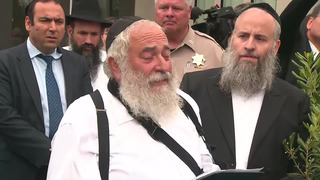 Poway rabbi urges everyone to 'fill up our buildings'